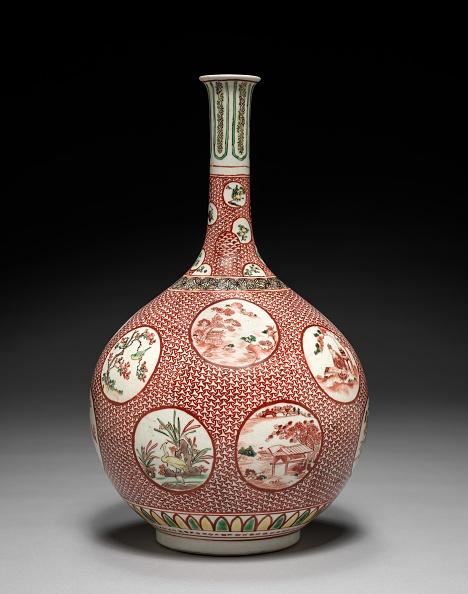 Vase「Bottle Vase: Kutani Ware」:写真・画像(4)[壁紙.com]
