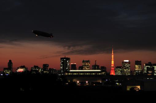 Airship「Blimb Over Tokyo」:スマホ壁紙(16)