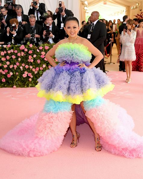 サイハイスリット「The 2019 Met Gala Celebrating Camp: Notes on Fashion - Arrivals」:写真・画像(17)[壁紙.com]