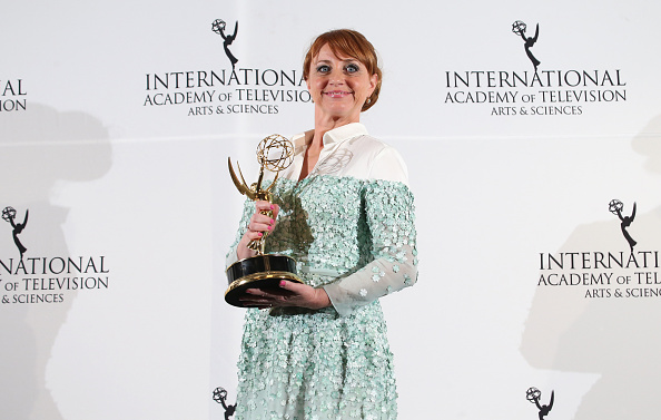 International Emmy Awards「2014  International Academy Of Television Arts & Sciences Awards - Press Room」:写真・画像(19)[壁紙.com]