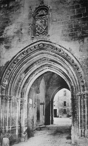 世界遺産「Avignon - Popes Palace - Principal Entrance - And Heraldry Of Clement Vi」:写真・画像(14)[壁紙.com]