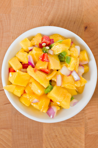 Pepper - Seasoning「Bowl Of Mango Salsa」:スマホ壁紙(10)