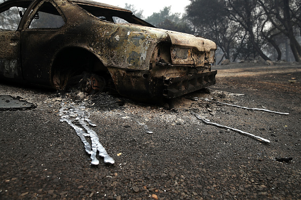 USA「Detwiler Fire Spreading Rapidly Threatens Historic Town Mariposa」:写真・画像(5)[壁紙.com]