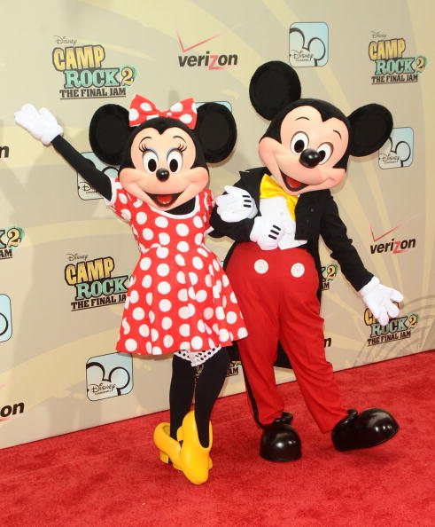 Mickey Mouse「'Camp Rock 2: The Final Jam' New York Premiere - Inside Arrivals」:写真・画像(1)[壁紙.com]