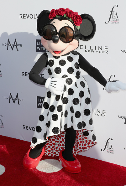 ミニーマウス「Daily Front Row's 3rd Annual Fashion Los Angeles Awards - Arrivals」:写真・画像(1)[壁紙.com]