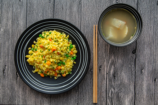 Preparing Food「Chinese egg fried rice」:スマホ壁紙(11)