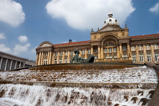 Town Square「A stunning view of Birmingham Victoria Square 」:スマホ壁紙(4)