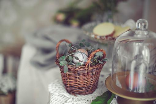 Easter Basket「Happy Easter!」:スマホ壁紙(10)