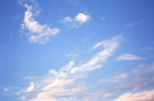 Sky Only「Wispy Clouds in Atmosphere」:スマホ壁紙(8)