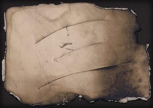 Burnt「Hi-Res Artist Cotton Canvas Cut and Burnt Vignette Grunge Texture」:スマホ壁紙(19)