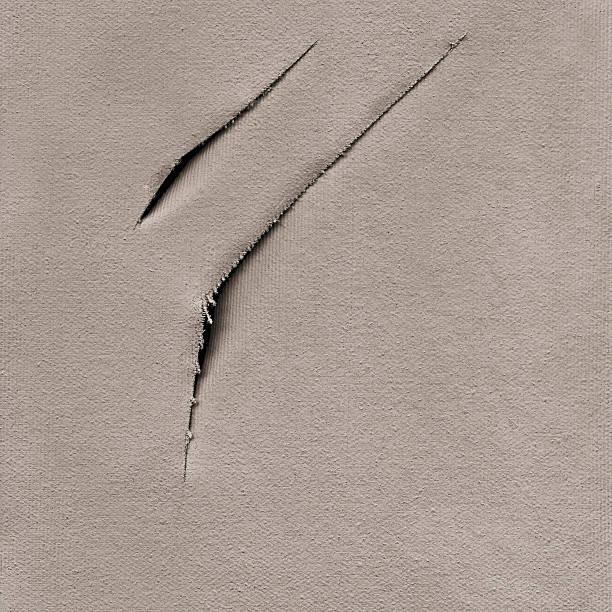 Hi-Res Artist's Primed Cotton Duck Canvas Cut Surface Grunge Texture:スマホ壁紙(壁紙.com)