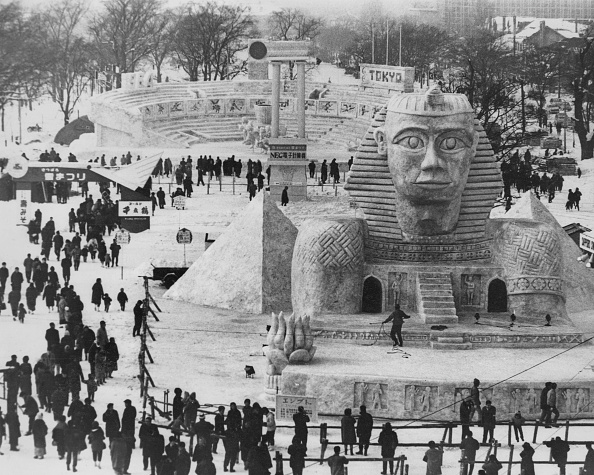 Ice Sculpture「Sapporo Snow Festival」:写真・画像(14)[壁紙.com]