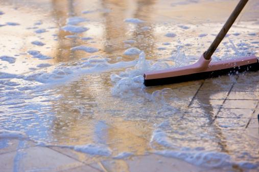 Polishing「Cleaning」:スマホ壁紙(6)