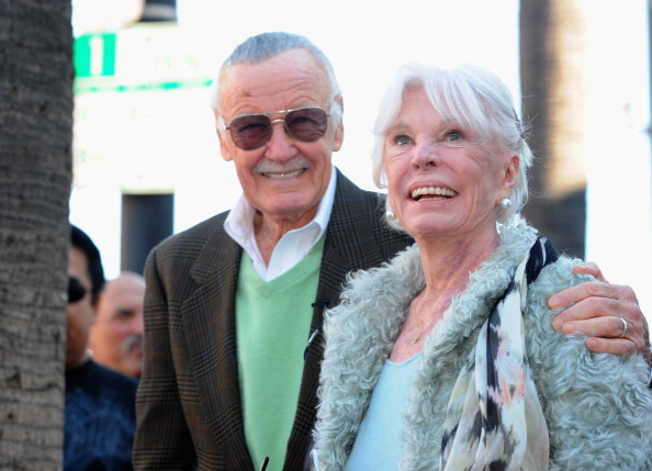 Wife「Stan Lee Honored On The Hollywood Walk Of Fame」:写真・画像(18)[壁紙.com]