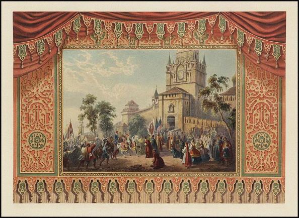 Curtain「Curtain Design For The Bolshoi Theatre」:写真・画像(15)[壁紙.com]