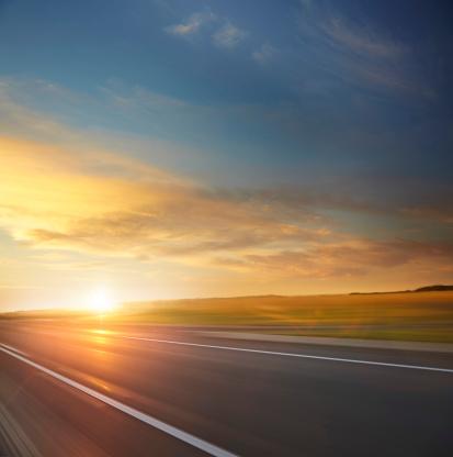 Dusk「Country sunrise road」:スマホ壁紙(17)