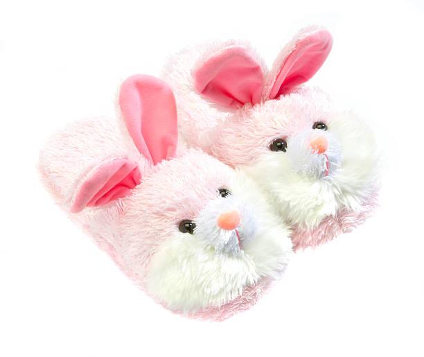 pink bunny slippers:スマホ壁紙(壁紙.com)