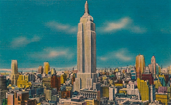 Empire State Building「Midtown Skyline Showing Empire State Building」:写真・画像(18)[壁紙.com]