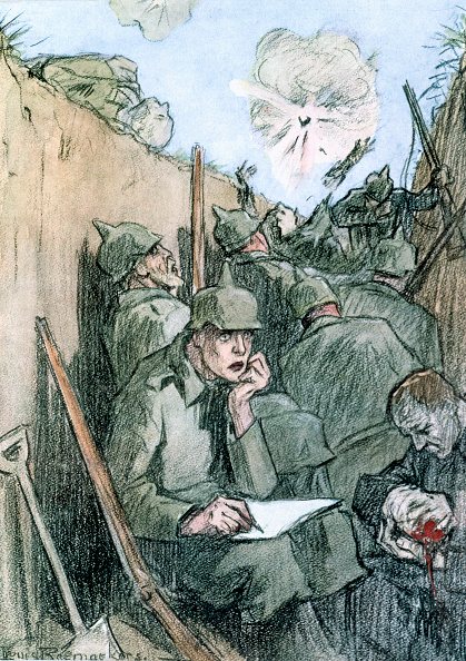 Writing「A Letter From The German Trenches' 1916」:写真・画像(5)[壁紙.com]