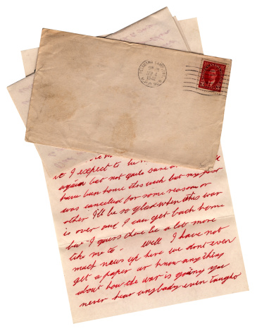 20th Century Style「WW2 letter from Canadian army camp at Petawawa, Ontario, 1942」:スマホ壁紙(18)