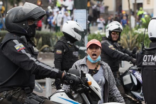 Government Subsidy「Government Crisis in Ecuador」:写真・画像(1)[壁紙.com]