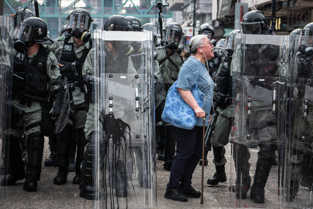 Violence Continues During Anti-Extradition Protests In Hong Kong:ニュース(壁紙.com)