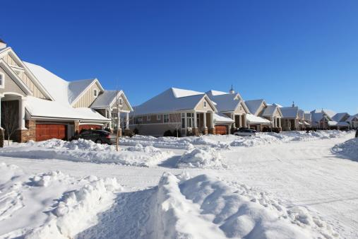 Conformity「Suburban Street in Winter」:スマホ壁紙(2)