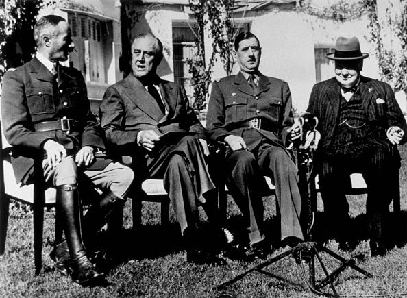 Franklin Roosevelt「Casablanca Meeting」:写真・画像(0)[壁紙.com]