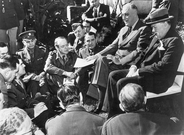 Franklin Roosevelt「Casablanca Meeting」:写真・画像(3)[壁紙.com]