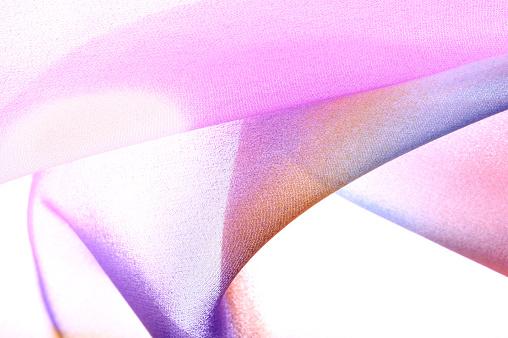 波「抽象マルチカラーのシルク」:スマホ壁紙(10)