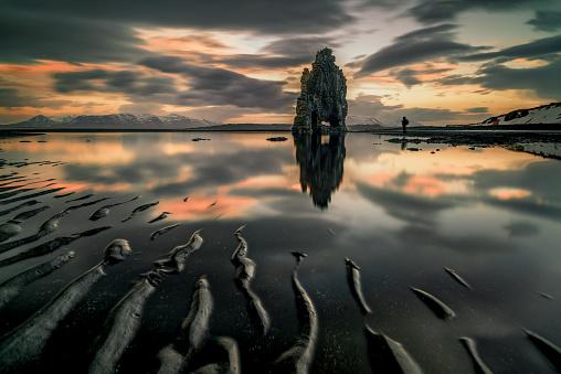 Basalt「Hvitserkur sea stack, Vatnsnes Peninsula, Iceland」:スマホ壁紙(11)
