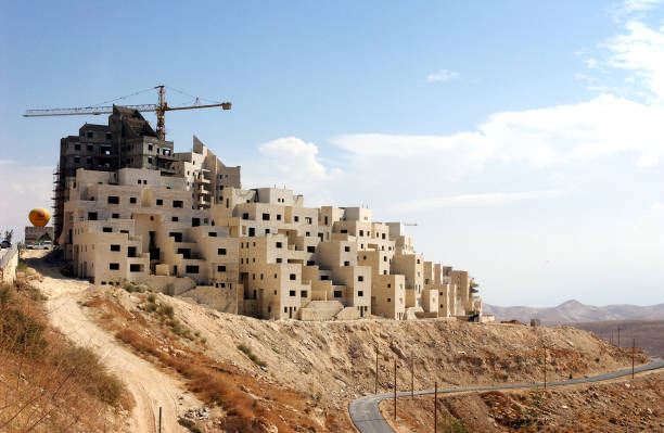 News Houses Are Built In The Jewish Settlement Of Ma'ale Adumim:ニュース(壁紙.com)