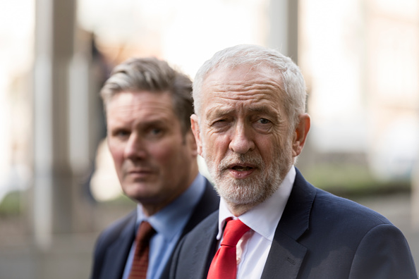 Brexit「Jeremy Corbyn Meet With Michel Barnier In Brussels」:写真・画像(6)[壁紙.com]
