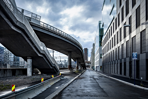 Elevated Road「Oslo cityscape」:スマホ壁紙(1)