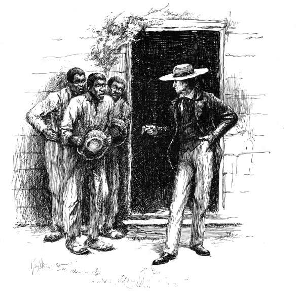 Magic Kingdom「Louisiana planter showing a voodoo charm to apprehensive plantation workers, 1886.」:写真・画像(18)[壁紙.com]