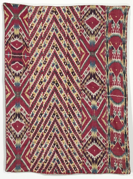Uzbekistan「Silk Ikat Wall Hanging (#333)」:写真・画像(11)[壁紙.com]