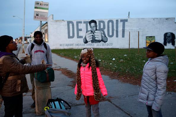 Detroit - Michigan「City Bankruptcy Ruling Expected In Detroit」:写真・画像(7)[壁紙.com]