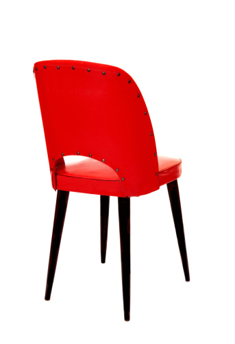 Back Of Chair「red chair」:スマホ壁紙(1)