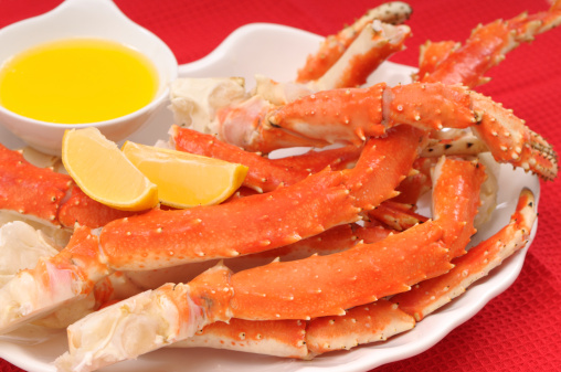 Claw「Crab legs served with lemon and butter」:スマホ壁紙(0)