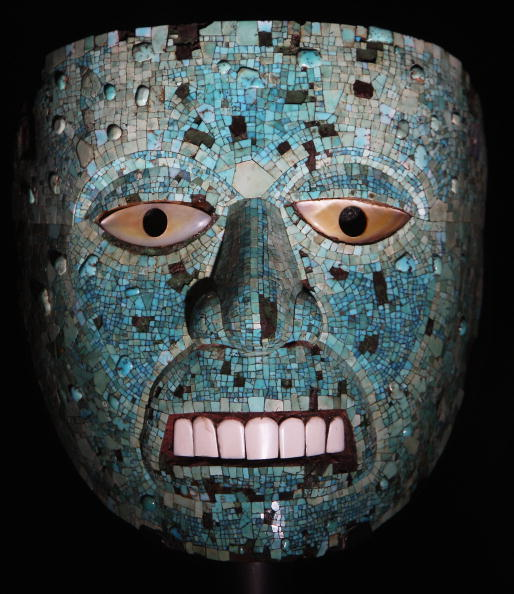 Mosaic「Artefacts From The Major Aztec Exhibition At The British Museum Are Shown」:写真・画像(7)[壁紙.com]
