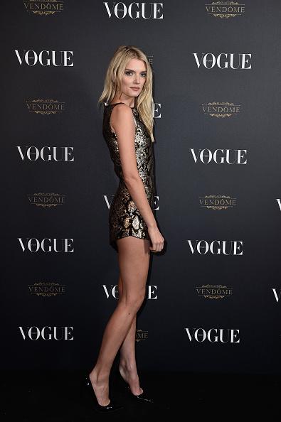 Lily Donaldson「Vogue 95th Anniversary Party Arrivals - Paris Fashion Week Womenswear Spring/Summer 2016」:写真・画像(2)[壁紙.com]