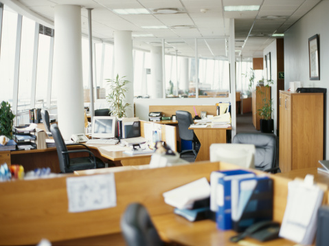 Focus On Background「interiors of an office」:スマホ壁紙(3)