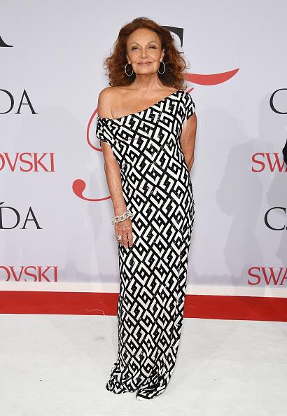 Diane von Fürstenberg - Fashion Designer「2015 CFDA Fashion Awards - Inside Arrivals」:写真・画像(9)[壁紙.com]