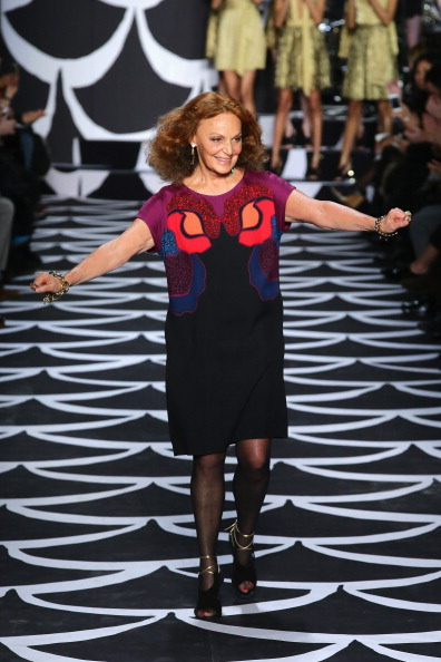 Diane von Fürstenberg - Fashion Designer「Diane Von Furstenberg - Runway - Mercedes-Benz Fashion Week Fall 2014」:写真・画像(13)[壁紙.com]