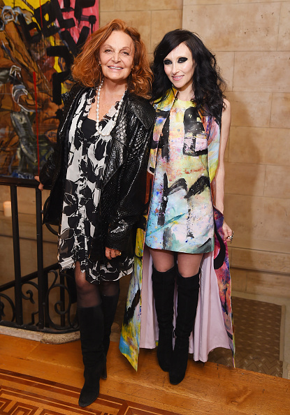 Multi Colored Coat「alice + olivia By Stacey Bendet And The CFDA Celebrate The alice + olivia And Domingo Zapata Collaboration」:写真・画像(13)[壁紙.com]
