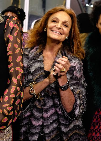 Diane von Fürstenberg - Fashion Designer「Diane Von Furstenberg - Presentation - Fall 2016 New York Fashion Week」:写真・画像(10)[壁紙.com]
