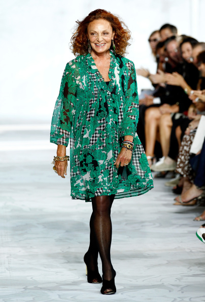 Diane von Fürstenberg - Fashion Designer「Diane Von Furstenberg - Runway - Mercedes-Benz Fashion Week Spring 2015」:写真・画像(3)[壁紙.com]