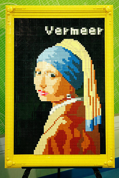 Lego Build 'Girl With A Pearl Earring':ニュース(壁紙.com)