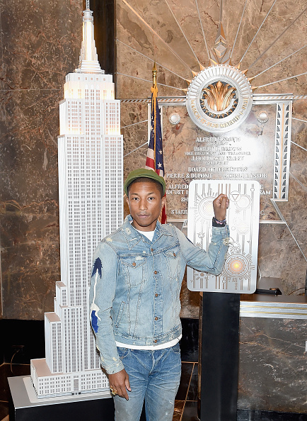 Empire State Building「Pharrell Williams Lights The Empire State Building For United Nations' International Day Of Happiness...」:写真・画像(14)[壁紙.com]