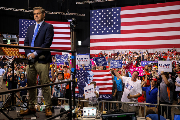 Drew Angerer「President Trump Holds Rally In Nashville, Tennessee」:写真・画像(5)[壁紙.com]